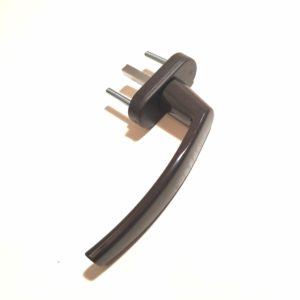 Ручка для окна коричневая